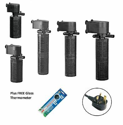 Hidom Biological Aquarium Fish Tank Internal filter Filtration Pump 800-2200 LPH