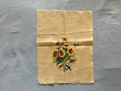 Beautiful Vintage Hand-Embroidered Tapestry (Small)