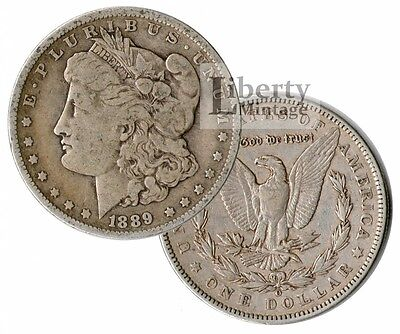 MORGAN DOLLAR 1878-1904 PRE-1921 U.S. 90% Silver $1 Coin - VG-VF