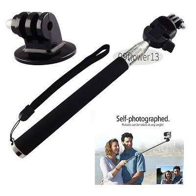 Go Pro Stick Telescoping Extendable Pole Handheld for Gopro Hero2 3 3+ 4