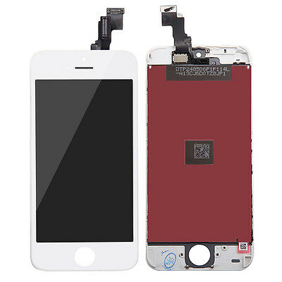 AU Stock LCD Replacement Front Touch Screen Digitizer Assembly f iPhone 5 5S 5C