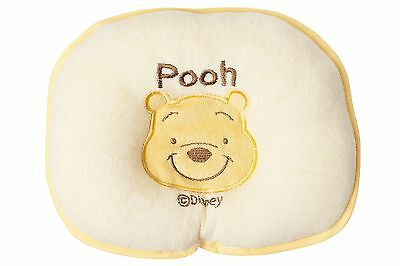 Pooh Bear Cushion Soft Cute Baby Children Pillow Head Rest Support For Car Home