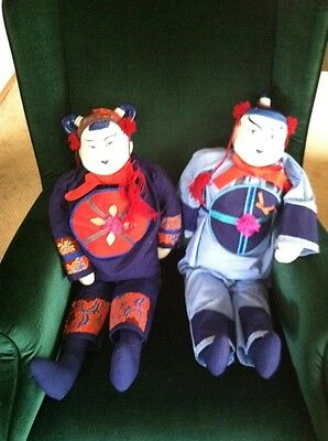 Traditional China Dolls