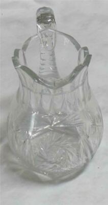 ABP Cut Crystal Glass  Water Pitcher ca. 1900's