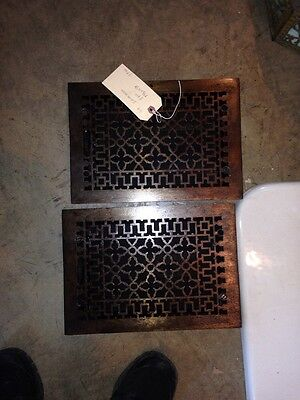 Two Av price each Floor Or Wall  Grate Antique G9