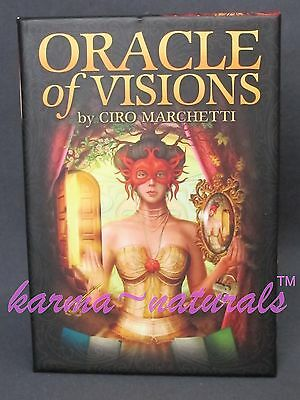 ORACLE of VISIONS Card Deck by Ciro Marchetti - NEW Divination Tarot Energy
