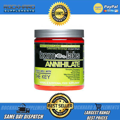 Bpm Labs Annihilate 50 Serves Thermogenic Very Strong * Focus * Energy * Mood