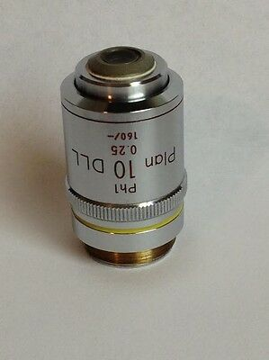 Nikon 10X Ph1 DLL Phase Objective