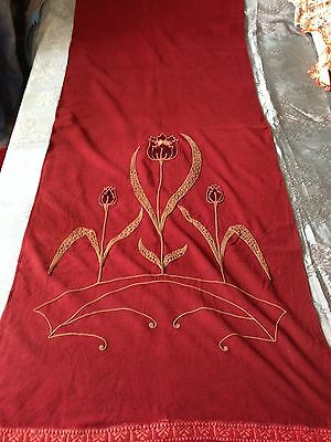 Beautiful Vintage Handmade Curtain