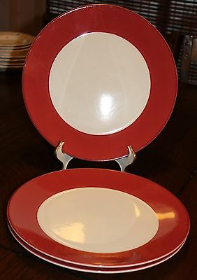 Pagnossin Ironstone Treviso Dinner Plate Martinique Rouge
