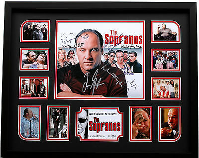 New The Sopranos James Gandolfini Signed Limited Edition Memorabilia