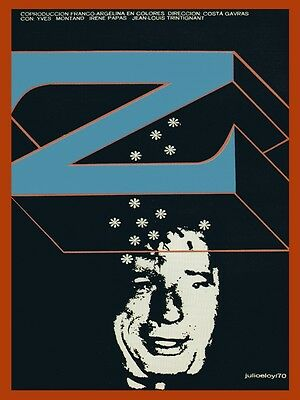 7594.Z.french argentinian coproduction.man with snowflakes.POSTER.art wall decor