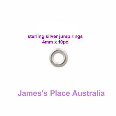 925 - Sterling Silver Jump Rings - varied styles & sizes