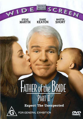 Father Of The Bride: Part II * NEW DVD * (Region 4 Australia)