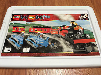 ~ Original Lego Harry Potter INSTRUCTIONS Book Manual Set 4842 Hogwarts Express