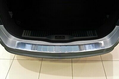 Stainless Steel Boot Edge Protector compatible with VAUXHALL ASTRA H Caravan