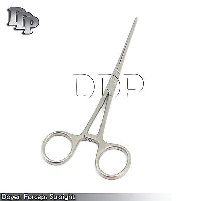 2 Doyen Intestinal Forceps Straight Surgical Instruments