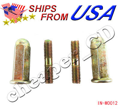 GY6 50CC-150CC 6mm Muffler Screw Set NEW