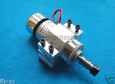 DC 12-48v CNC 300W Air cool Spindle Motor with ER11 Mount bracket