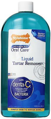 Nylabone Advanced Oral Care Liquid Tartar Remover, 32-Ounce, Free Shipping, New