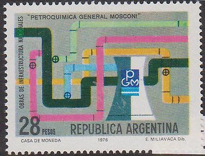 (T11-152) 1976 Argentina 28p petrochemical project MUH