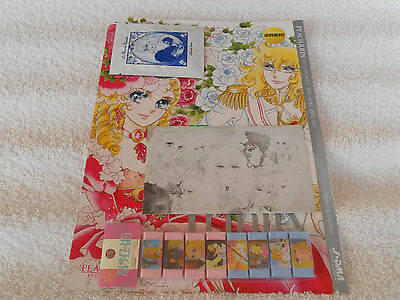 Lady Oscar/Rose of Versailles:lotto 4 oggetti Japan (parzialmente divisibile)