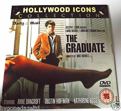 The Graduate Dustin Hoffman Daily Mail Promo Dvd(Free Uk Post)