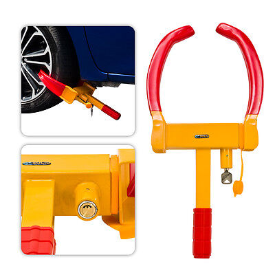Anti Theft Parking Boot Tire Claw Wheel Clamp Auto Car Truck Towing Trailer Lock