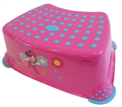 Disney Minnie Mouse Toddler Toilet Training Step Stool - Pink