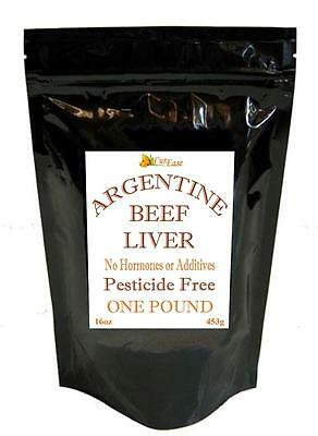 ORGANIC Argentine Dessicated BEEF LIVER POWDER UNDEFATTED ~ POUND 1 Lb 453 grams