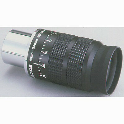 "Meade Series 4000 8mm - 24mm 1.25"" Zoom Eyepiece # 07199-2"
