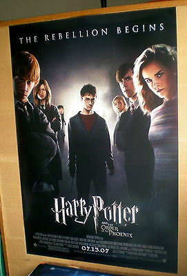 """HARRY POTTER AND THE ORDER OF THE PHOENIX ORIGINAL Movie Poster 27""""X40"""""""