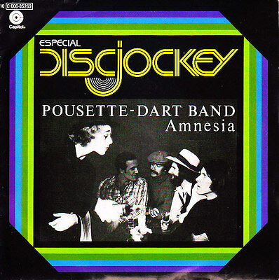 """7"""" promo POUSETTE DART BAND may you dance SPANISH VINYL 1977  I think I know"""