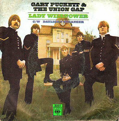"7"" GARY PUCKETT & the UNION GAP Lady willpower SPANISH 1968"