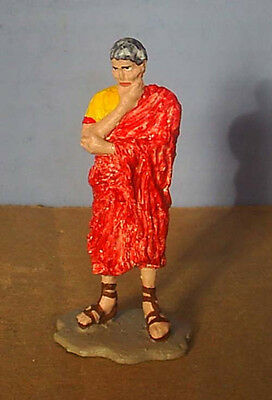 TOY SOLDIERS METAL ANCIENT ROMAN THINKING 54MM