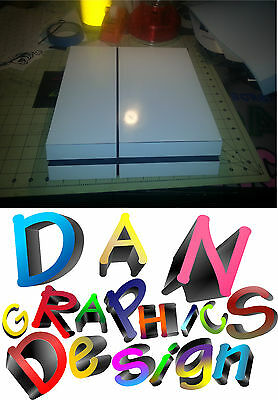 skin vinyl sticker decal for ps4 Playstation 4 console different colors