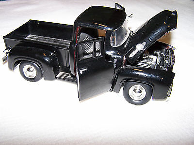 1956 FORD PICK UP TOY BLACK SCALE 1:24 NO.68063