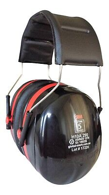 3M Peltor Earmuff H10 Safety Workwear Hearing Protection Noise Reduction 33 dB