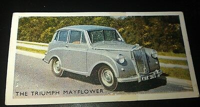 1952 TRIUMPH MAYFLOWER  Orig Trading Card RSPOA UK