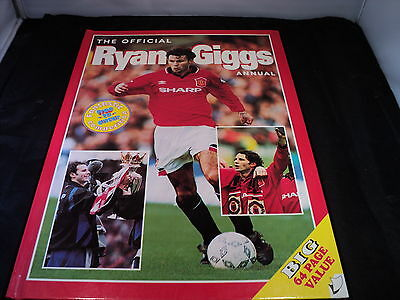 The official Ryan Giggs Annual 1996 Manchester united