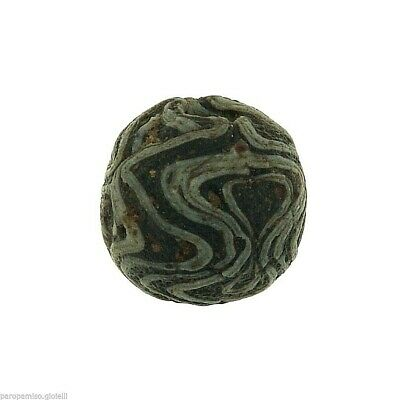 Early Islamic Glass Bead   (0429)