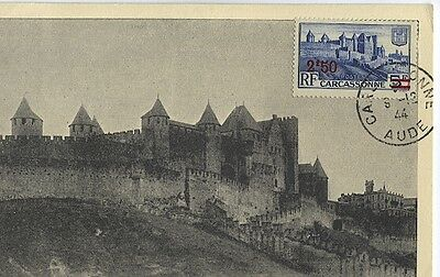 Carte-maximum France n° 490 - Carcassonne (26354)