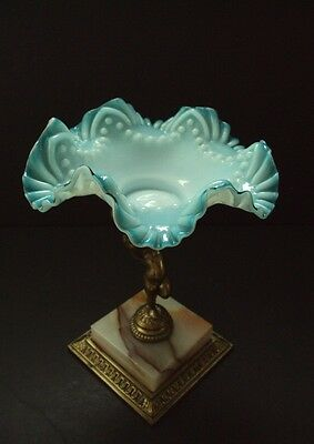 Antique c1890 Majestic Pairpoint Mt Washington Cherub Center Piece