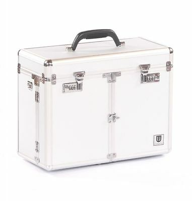 dog cat pet grooming show equestrian storage case cases tack box bag pet silver