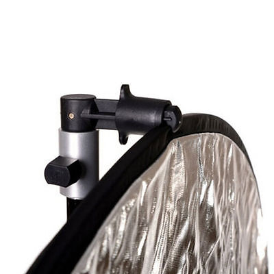 Photography Studio Reflector Holder Disc Clip Clamp for Video Light Background