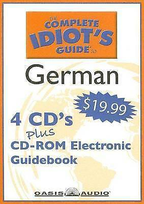 THE COMPLETE IDIOT'S GUIDE TO GERMAN - 4 Disc CD Course