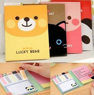 FD926 Animal Sticker Post-It Bookmark Point It Marker Memo Flags Sticky 1PC:)
