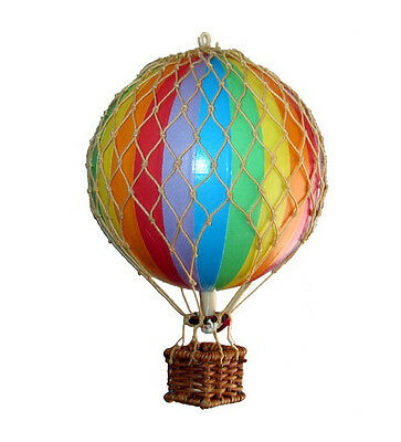 Small Model Hot Air Balloon Rainbow Mobile