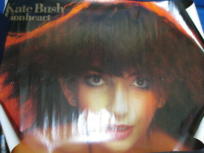 Kate Bush Lionheart Japan Promo Poster by Toshiba EMI Japan