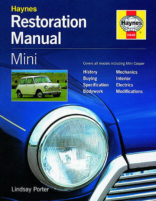 classic MINI / Cooper Restoration Manual Restauration Handbuch Buch Austin Rover